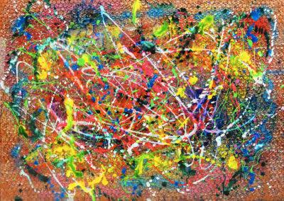 MARISE 150x100 APERATO ARTISTE PEINTRE MARSEILLE série plexi
