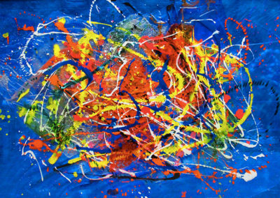 TOMY 150x100 APERATO ARTISTE PEINTRE MARSEILLE série plexi