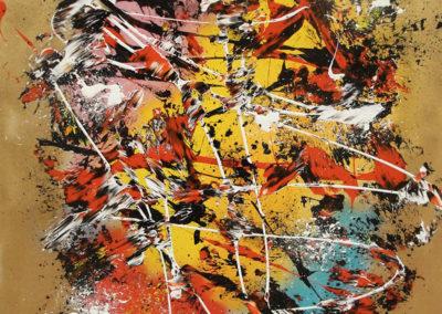 aperato-artiste-peintre-marseille-france-PINK-GOLD 90X114