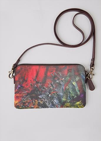 petit sac rouge aperato-artiste-peintre-marseille-pochette-artistique