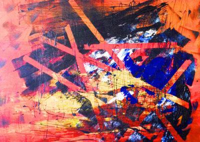 aperato-artiste-peintre-toile-marseille-REFLEXION-PASSIONNEE 100x100