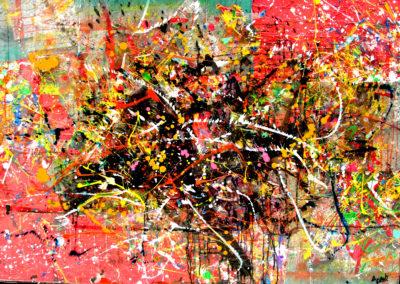 GERTRUDE 150x100 APERATO ARTISTE PEINTRE MARSEILLE série plexi