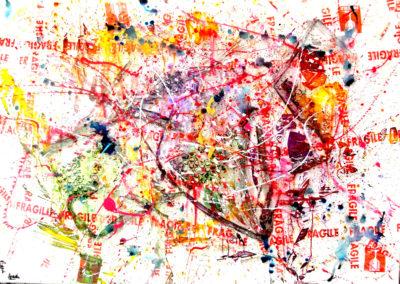 POCAPICOLA 150x100 APERATO ARTISTE PEINTRE MARSEILLE série plexi