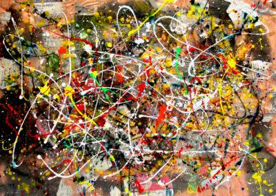 RAZOLBO 150x100 APERATO ARTISTE PEINTRE MARSEILLE série plexi