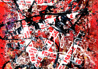 BLUGIN 90X114 APERATO ARTISTE PEINTRE MARSEILLE SERIE FRAGILE