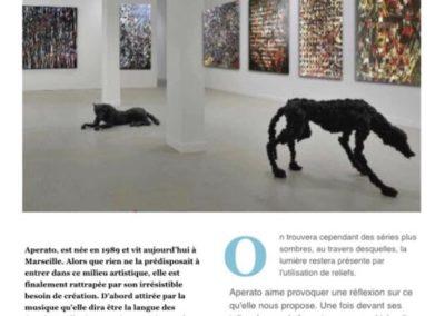 PRESS APERATO ARTISTE PEINTRE MARSEILLE BELGE AU FRIOUL