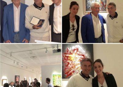 GERARD HOLTZ APERATO EXPO ARTISTE. PEINTRE MARSEILLE