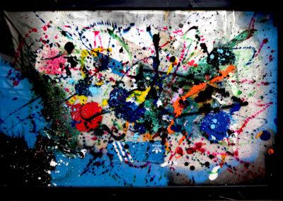 APERATO ARTISTE PEINTRE MARSEILLE EXPO  GALERIE D'ART SERIE PLEXI POPART STREET ART ADIBLUES 150X100 APERATO ARTISTE PEINTRE MARSEILLE