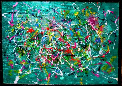 APERATO ARTISTE PEINTRE MARSEILLE EXPO  GALERIE D'ART SERIE PLEXI POPART STREET ART ATHENA 150X100 APERATO ARTISTE PEINTRE MARSEILLE