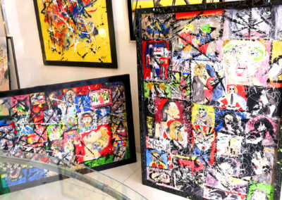 APERATO GALERIE D'ART POPART STREET ART PAINTING OIL PAINTING PEINTURE A L'HUILE ARTWORK STREET ARTIST CONTEMPORARY ART EXPO MARSEILLE PARIS LONDRES NEW YORK TOKYO CANNES
