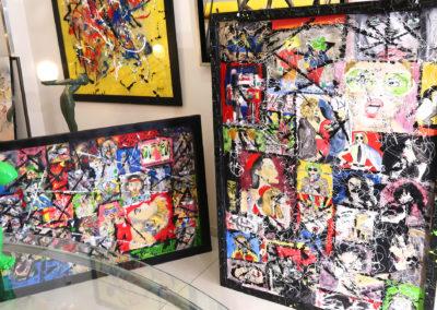 APERATO ARTISTE PEINTRE EXPO GALERIE D'ART CANNES LA CROISETTE