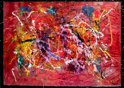 APERATO ARTISTE PEINTRE MARSEILLE EXPO  GALERIE D'ART SERIE PLEXI POPART STREET ART MARENGO 150X100 APERATO ARTISTE PEINTRE MARSEILLE