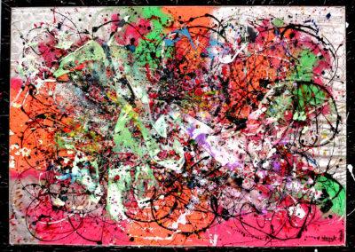 APERATO ARTISTE PEINTRE MARSEILLE EXPO  GALERIE D'ART SERIE PLEXI POPART STREET ART MARKOLANI 150X100 APERATO ARTISTE PEINTRE MARSEILLE