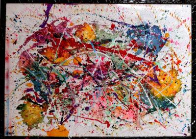 APERATO ARTISTE PEINTRE MARSEILLE EXPO  GALERIE D'ART SERIE PLEXI POPART STREET ART VIVIEN 150X100 APERATO ARTISTE PEINTRE MARSEILLE