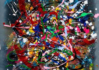 LOVE 60X60 APERATO ARTISTE PEINTRE MARSEILLE EXPO  GALERIE D'ART SERIE PLEXI POPART STREET ART